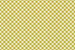 Gul modell för gingham Textur från romb/fyrkanter för - pläd, borddukar, kläder, skjortor, klänningar, papper och annan textil royaltyfri illustrationer