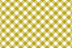 Gul modell för gingham Textur från romb/fyrkanter för - pläd, borddukar, kläder, skjortor, klänningar, papper och annan textil stock illustrationer