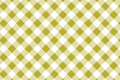 Gul modell f?r gingham Textur fr?n romb/fyrkanter f?r - pl?d, borddukar, kl?der, skjortor, kl?nningar, papper och annan textil royaltyfri illustrationer