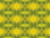Gul mosaik Fotografering för Bildbyråer