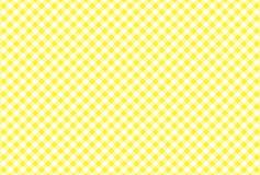 Gul och vit plädvektorbakgrund Vektor Illustratio royaltyfria foton