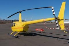 Gul R44 royaltyfri foto