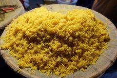 Gul rice Royaltyfria Bilder