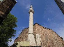 Gul Rose Mosque - St. Theodosia Monastery - Hagia Theodosia Church in Istanbul lizenzfreie stockfotos
