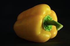 Gul söt peppar Arkivfoto