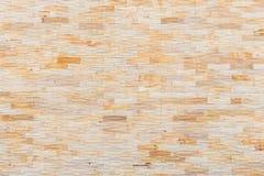 Gul sandstenväggtextur och bakgrund Royaltyfri Bild