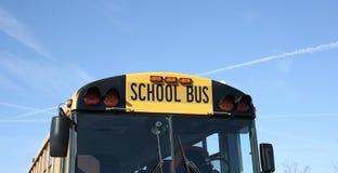 Gul skolbuss Fotografering för Bildbyråer