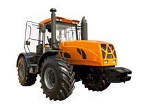 Gul traktor Royaltyfri Foto