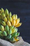 Gula bananer Royaltyfri Bild