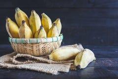 Gula bananer Arkivbild