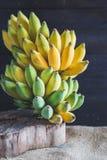Gula bananer Fotografering för Bildbyråer
