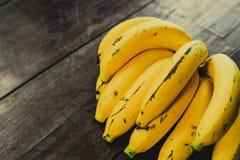 Gula bananer Royaltyfri Fotografi