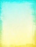 Gula blåtttexturer Royaltyfri Bild