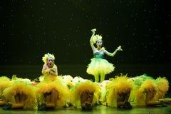 Gula fågelungar - barndans Royaltyfria Foton
