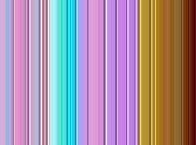 Gula linjer för färgrika guld- violetblått, pastellfärgade toner Royaltyfri Fotografi