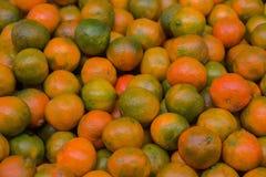 Gula mandariner Arkivbilder