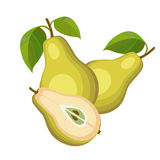 Gula pears Royaltyfria Bilder