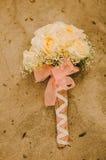 Gula Rose Bouquet Royaltyfria Bilder