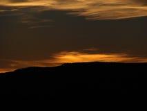 Gula Skies royaltyfri foto