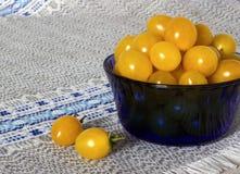 Gula tomater Royaltyfri Foto