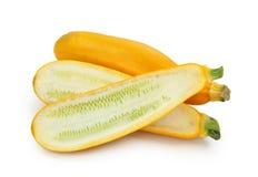 gula zucchinis Fotografering för Bildbyråer