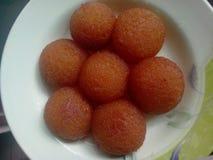 Gulab Jaman - Desi Sweets stockbilder