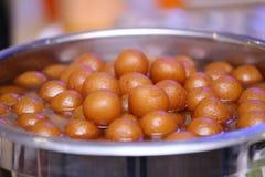 Gulab Jamun. Is an Indian sweet dish Stock Photos