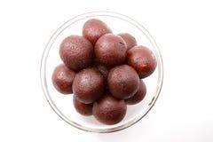 Gulab Jamun - An Indian sweet dish Stock Photo