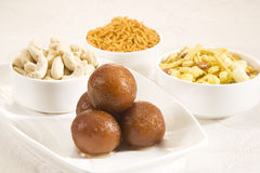 Gulab Jamun, Indian Sweet Royalty Free Stock Photography