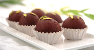Black Gulab Jamun-2. Mouth watering sweet treat of Asia Royalty Free Stock Photo