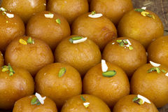 Gulab Jamun Sweet Food Stock Photo
