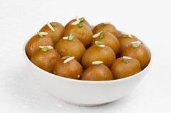 Gulab Jamun Sweet Food Stock Image