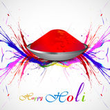 Gulal for holi background grunge of colorful Royalty Free Stock Photo