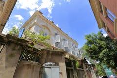 gulangyu小岛的老房子 免版税库存照片