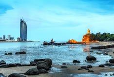 Gulangyu-Insel-Nacht-scape Lizenzfreie Stockfotografie