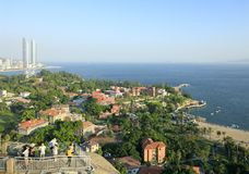 Gulangyu scenery on riguanyan hill, adobe rgb Royalty Free Stock Photo