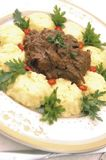 Gulash de la carne de venado Imagenes de archivo