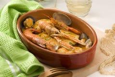 gulasz kuchni ryba spanish gulasz obraz royalty free