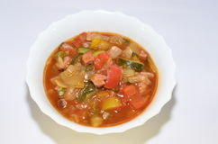Gulaszy warzyw jedzenia posiłek Obrazy Stock