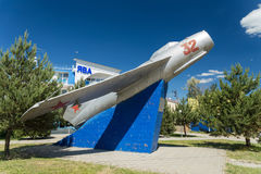 Gulayev Nikolai Dmitrievich, fighter pilot, shot down 57 enemy aircraft. Anapa. Russia. Krasnodarskiy Kray. 04.06.2017. Gulayev Nikolai Dmitrievich, fighter Stock Photo