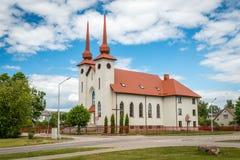 Gulbenes Vissv. Sacrament Catholic Church Royalty Free Stock Photos