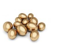 guld- ägg Royaltyfria Bilder