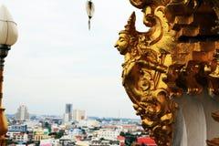 Guld- änglar Royaltyfri Fotografi