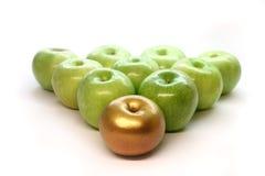 guld- äpple Royaltyfria Foton