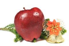 guld- äppleklocka Arkivfoton