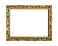 Guld åldras ram Royaltyfria Bilder