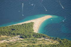 guld- ö för bracudd Arkivbilder