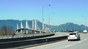 Guld- öraväg i större Vancouver arkivbild