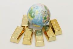 guld Arkivbilder