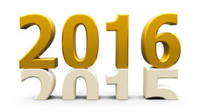 guld 2015-2016 Arkivbilder